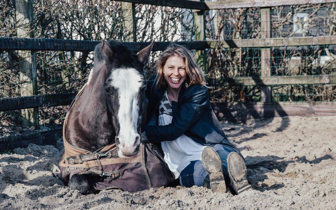 Janneke Valkering: mensen weer laten genieten van het paardrijden