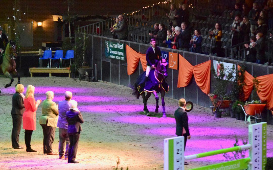 Kevin Jochems wint eerste 1m40 Indoor Groningen