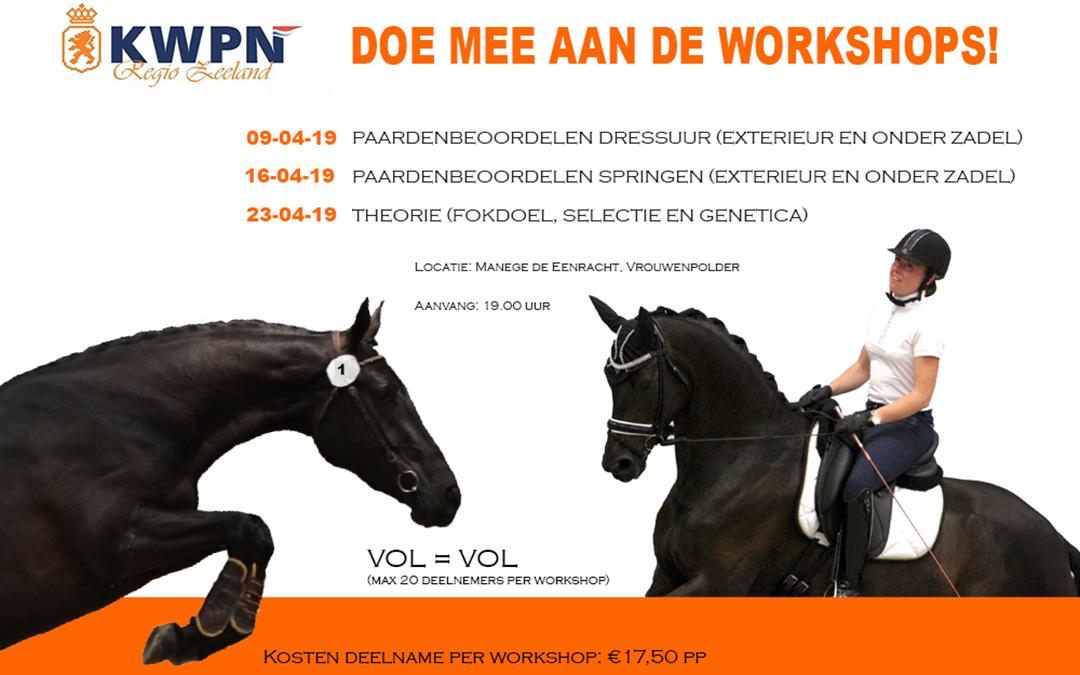KWPN: doe mee aan de workshop paarden beoordelen