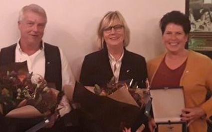 Zilveren speld voor Annet Schumacher, Magda Roesink en Fred Schoenman