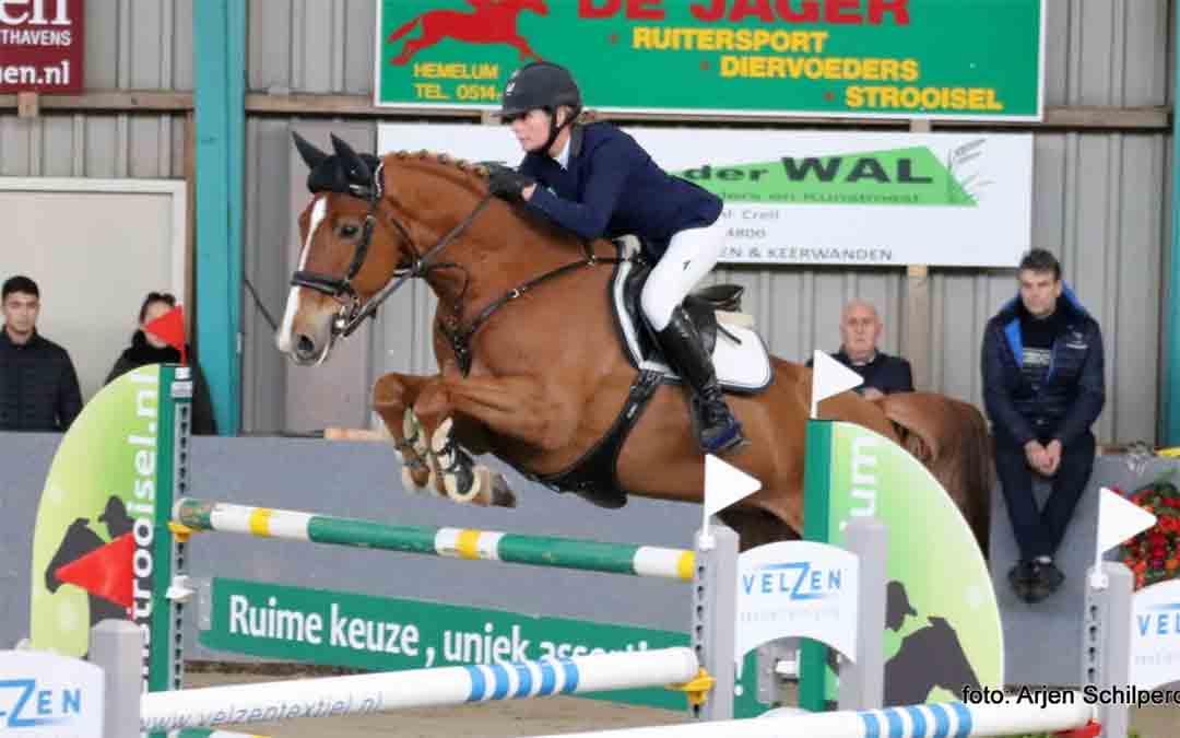 Hester Klompmaker domineert op Fries kampioenschap