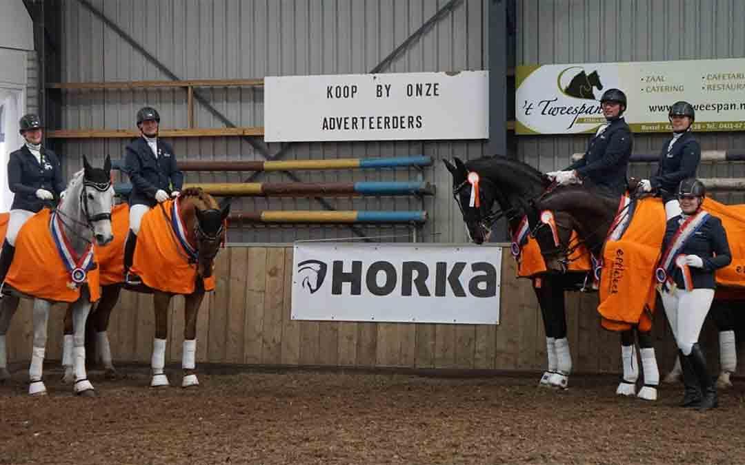 Team Horses For Heezen als 1e geplaatst voor The Dutch Masters