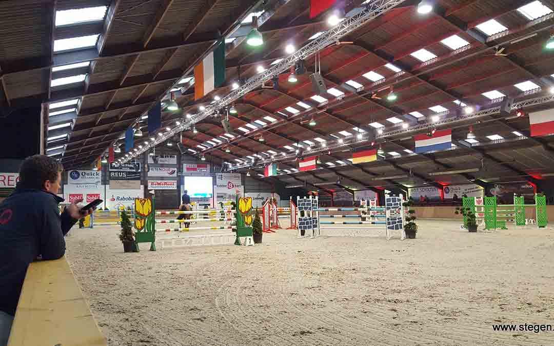 Finale Roelofsen Horse Trucks Winter Classics in Exloo