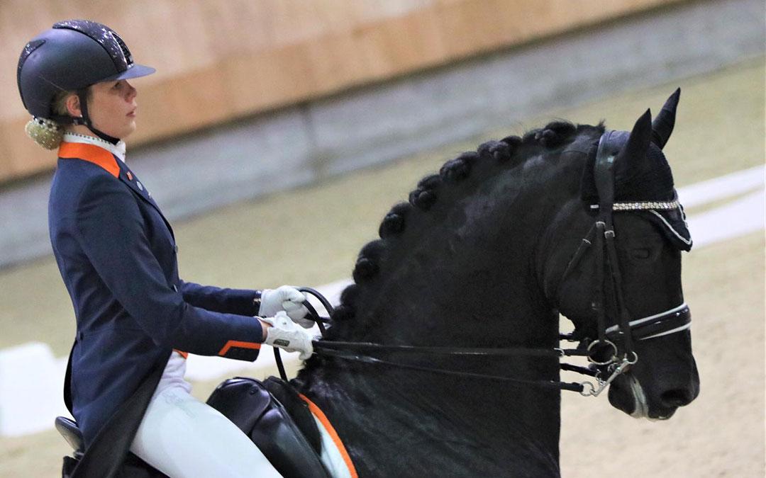 Carlijn Huberts wint ook in Liempde