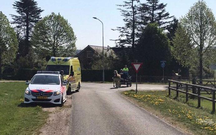 Loslopend paard en gewonde koetsier na oproep snel gevonden