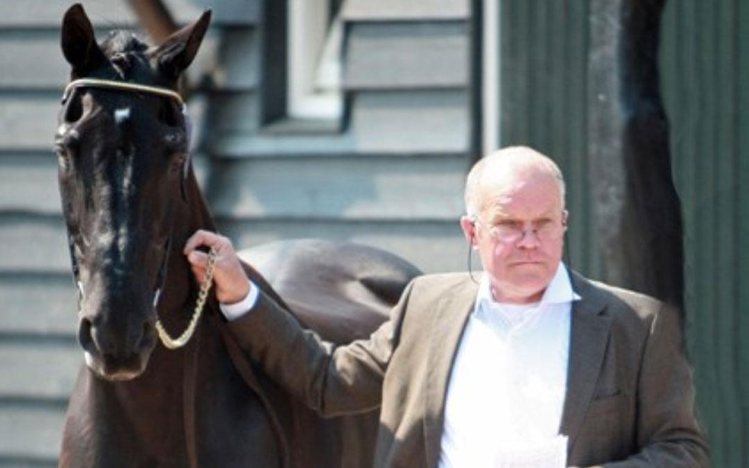 Jan Greve en Wim van Dijck teamveterinair
