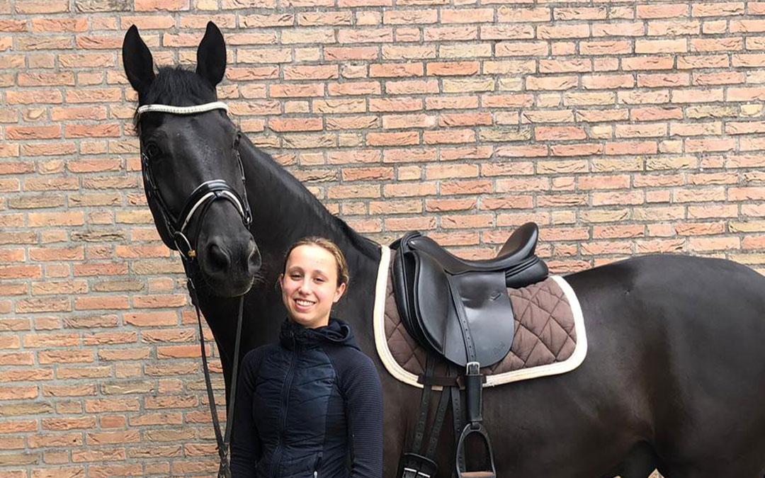 Lotte van den Herik scoort in Grand Prix Grote Brogel