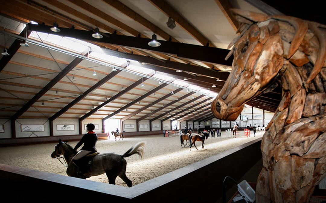 Miljoenen geen probleem bij Hippisch Centrum in Kronenberg