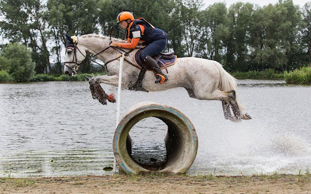 Regiokampioenschap Zuid-Holland Eventing in recreatiegebied Vlietland