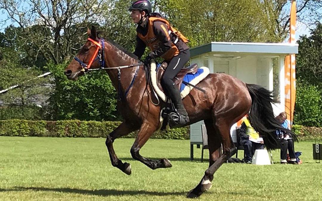 Desiree Warmenhoven wint NK endurance jeugd