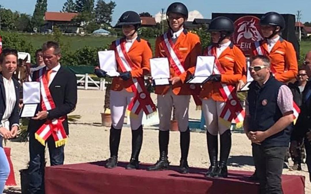 Junioren winnen landenwedstrijd Lamprechtshausen