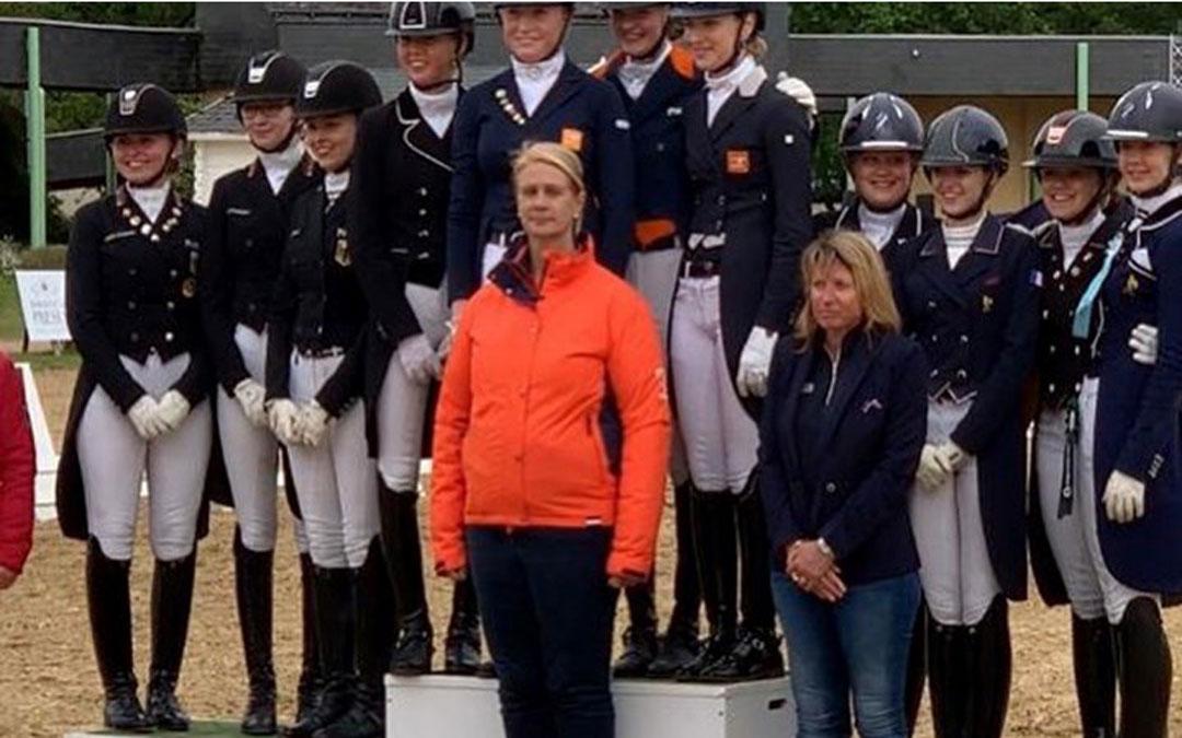 Oranje-successen tijdens CDI Saumur