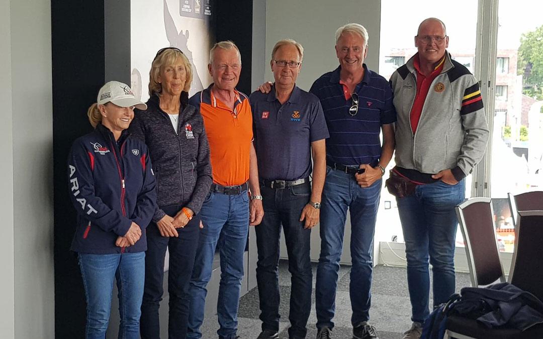 Nederland start als tweede in landenwedstrijd dressuur
