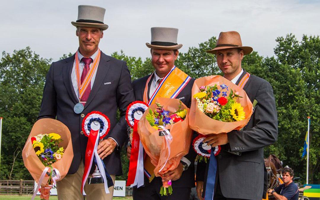 Beekbergen: vaardigheid schudt klassement door elkaar, Koos de Ronde kampioen