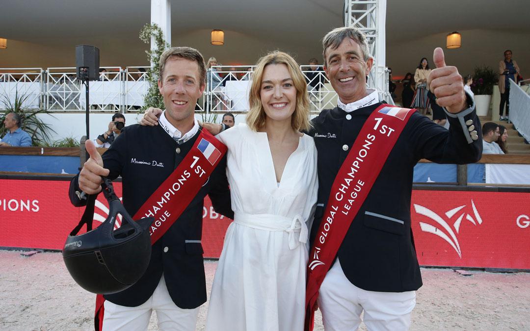 Eric en Maikel van der Vleuten winnen samen in Cannes