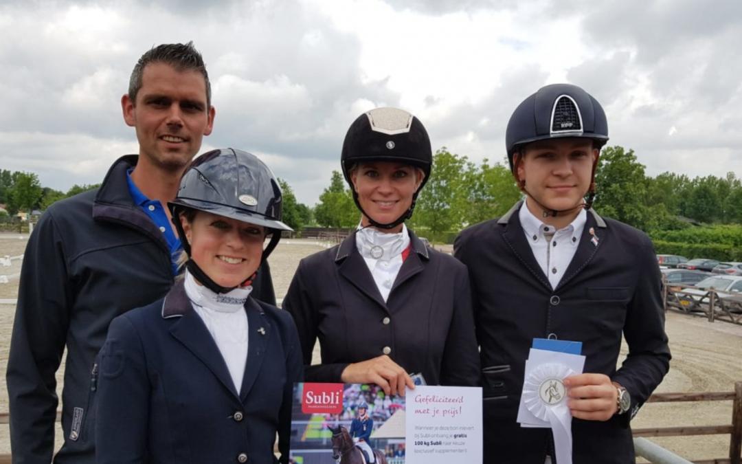 Emmelie Scholtens en Nora van Houtem winnen in Schijndel