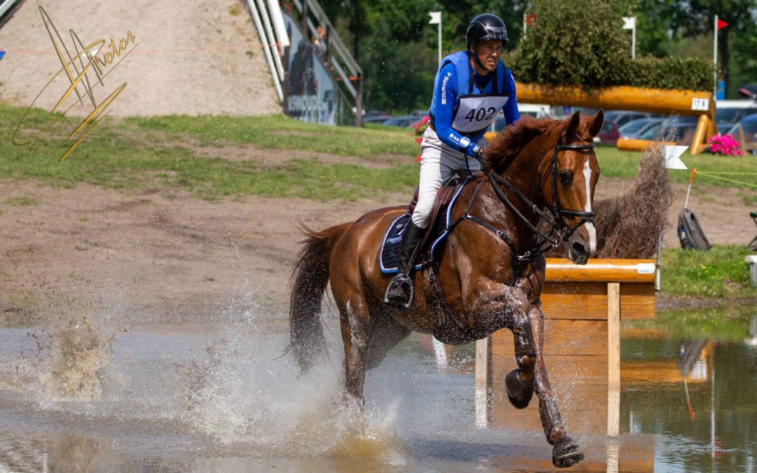 TeamNL eventing tweede in FEI Nations Cup Le Pin au Haras