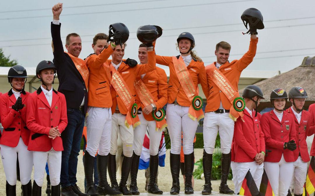 Goud voor Nederland bij EK De Wolden