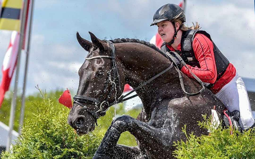 Loes van Erp – Mooren wint Bavaria Eventing Trophy