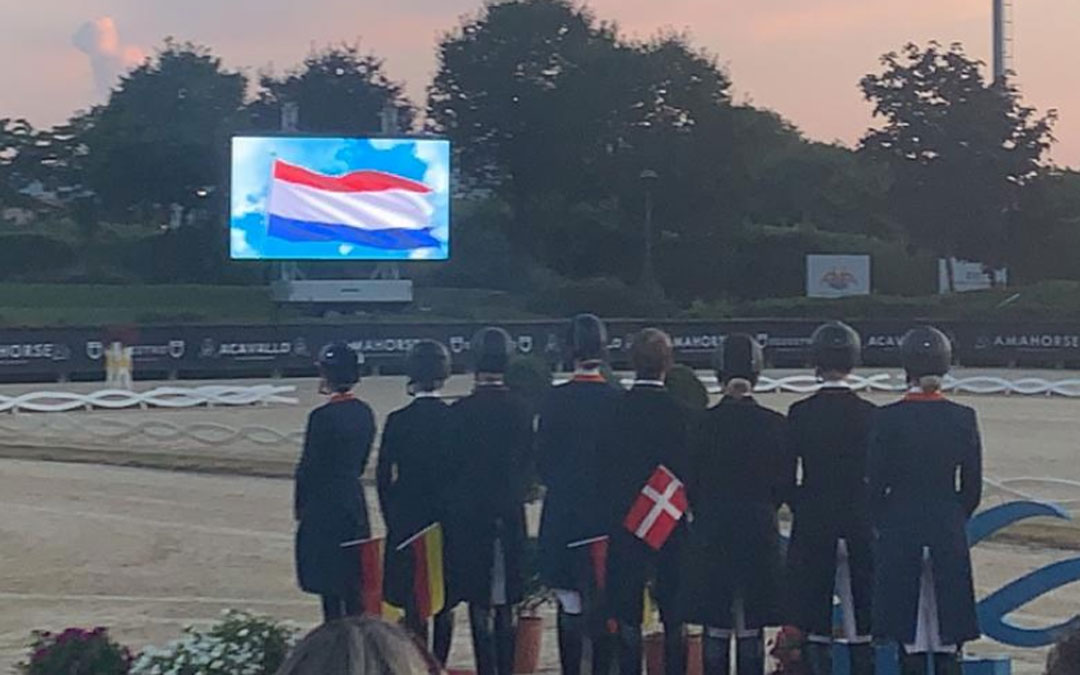 Nederland ook zilver bij U25 EK