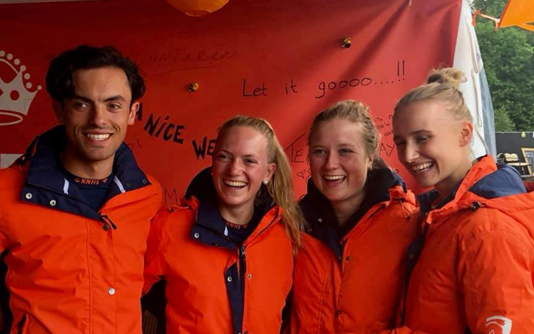 Brons voor eventing team young riders