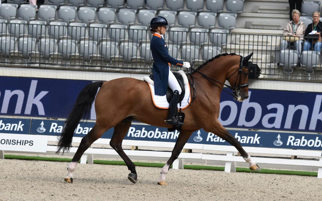 Anne Meulendijks naar Saab top-10