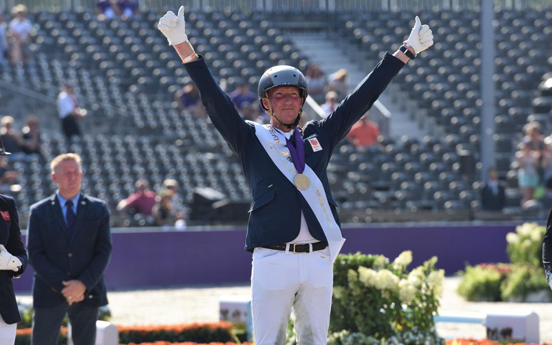 Frank Hosmar voor negende keer Nederlands kampioen