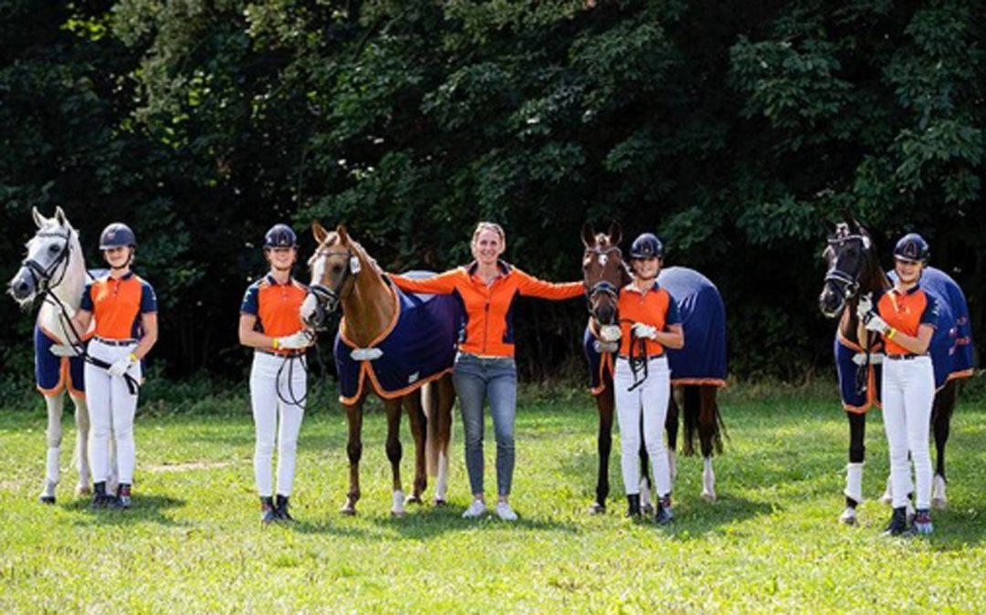 Nederlandse ponyruiters toch zilver