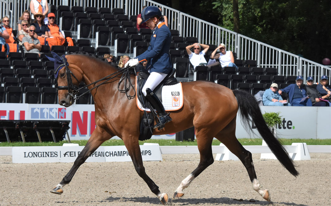 Rixt van der Horst wint alles in Doha