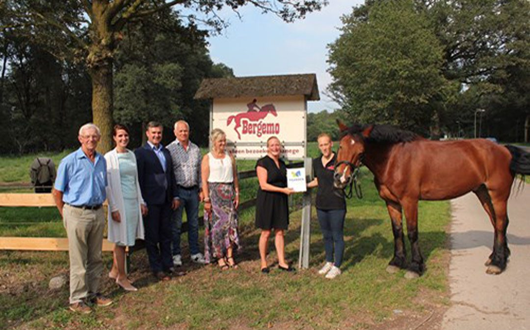 Paarden Welkom voor drie Limburgse bedrijven