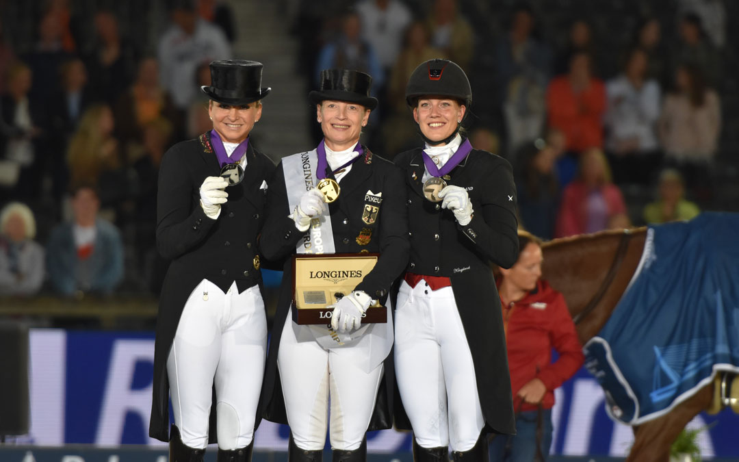 Isabell Werth zoals verwacht Europees kampioen