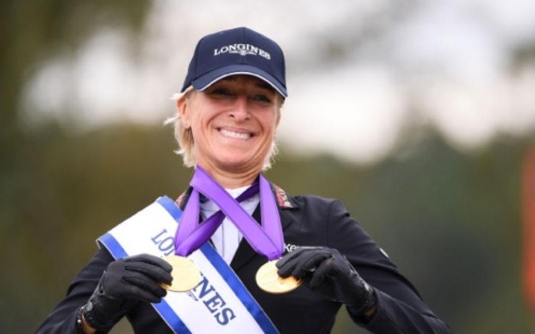 Ingrid Klimke Europees kampioen eventing