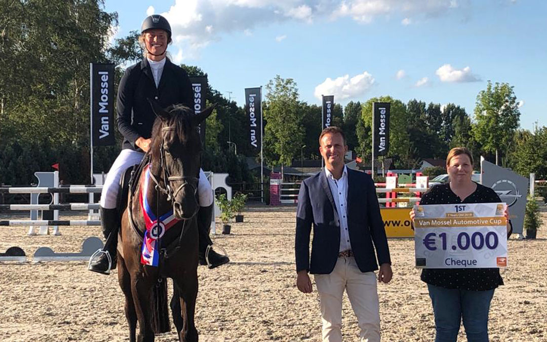 Veronique Morsink wint zevenjarige-rubriek in Schijndel