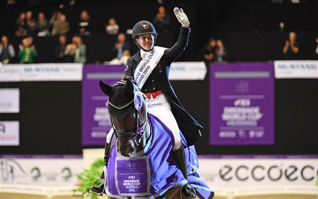 Cathrine Dufour wint wereldbekerwedstrijd Herning