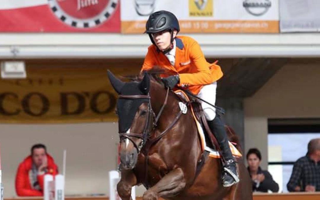 Yannick Janssen van Grunsven wint pony GP Chevenez