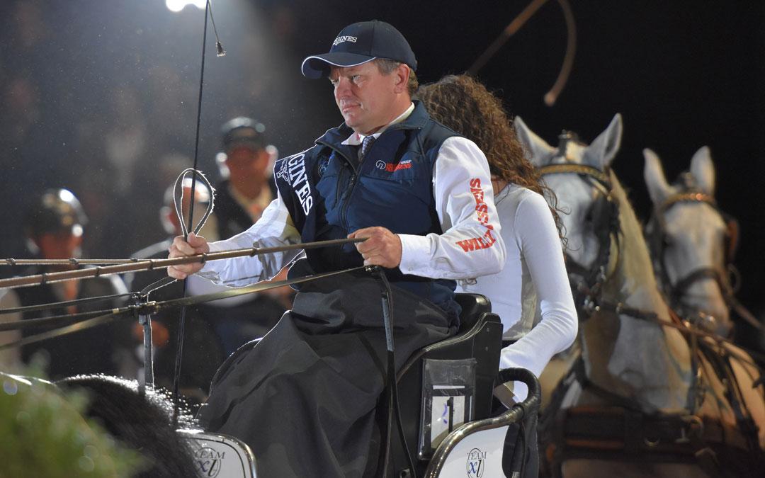 Boyd Exell gaat ook Leipzig winnen