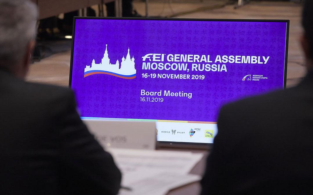 Eventing-nieuws uit Moskou