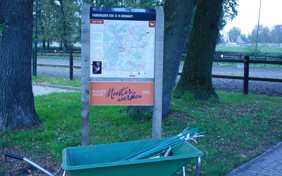 Ruiters en Menners knappen ruiterpaden op in Brabant