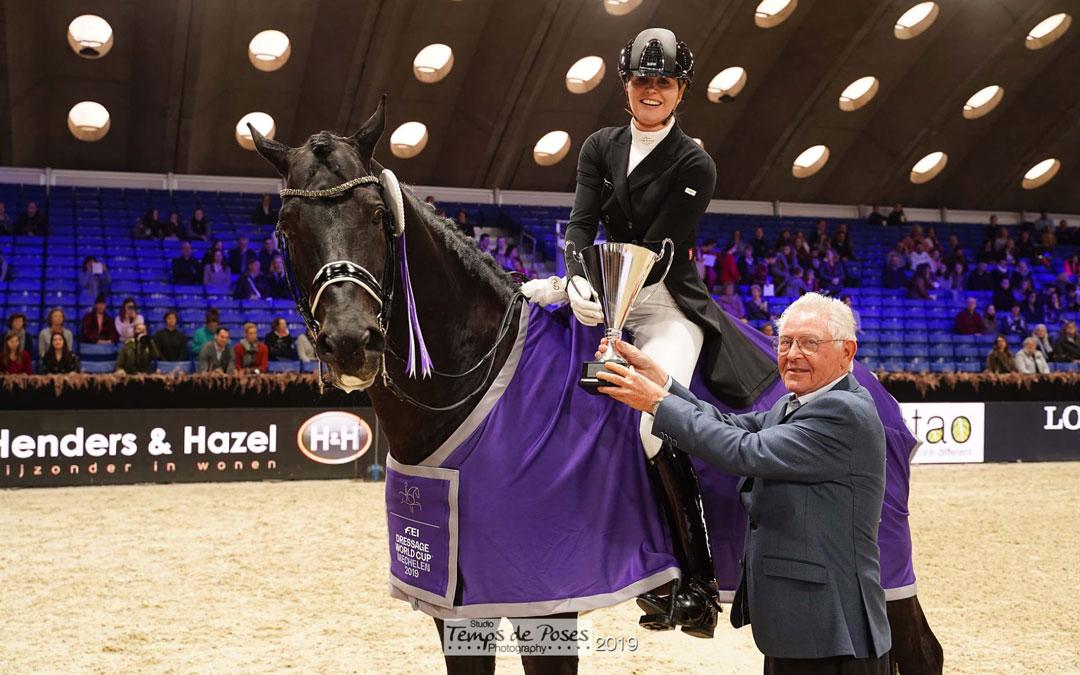 Emmelie Scholtens wint wereldbeker Grand Prix in Mechelen