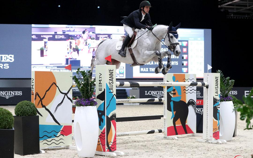 Sweet Tricia wint in Parijs