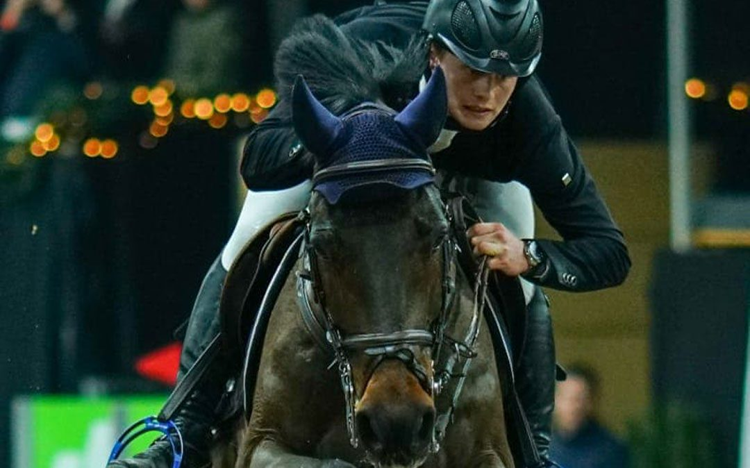 Hessel Hoekstra wint 1m45 in Sentower Park
