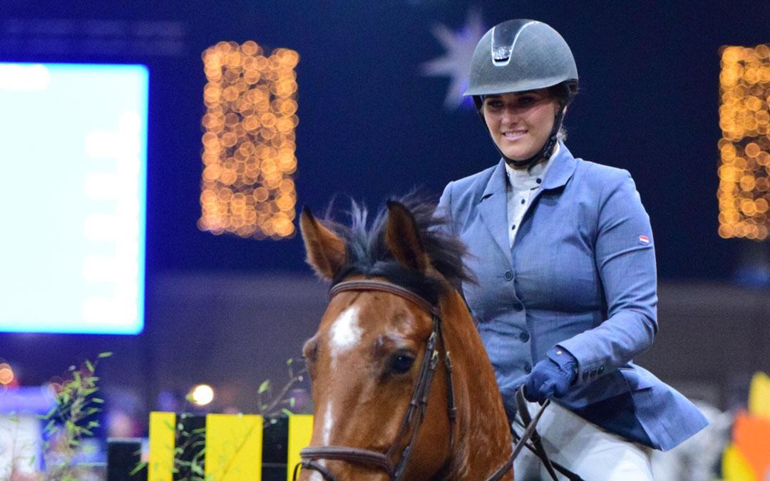 Xanne Sluyter plankgas naar zege Z twee fasen Indoor Groningen