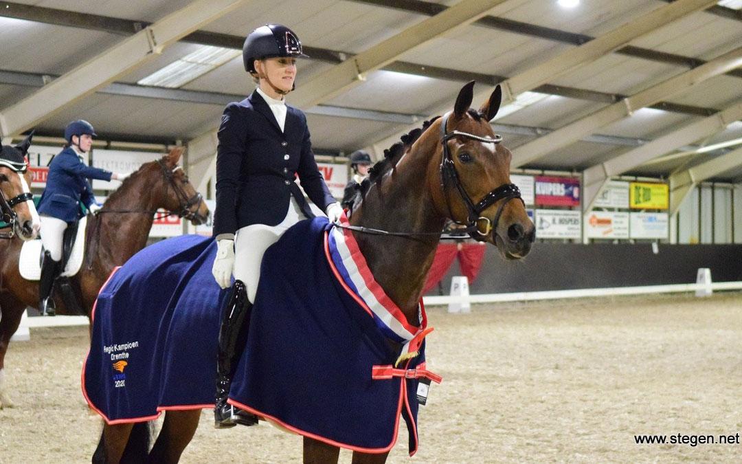 Ann Wessels Drents kampioen Z1 met Ginn: 'Elke dag met haar is een feestje'