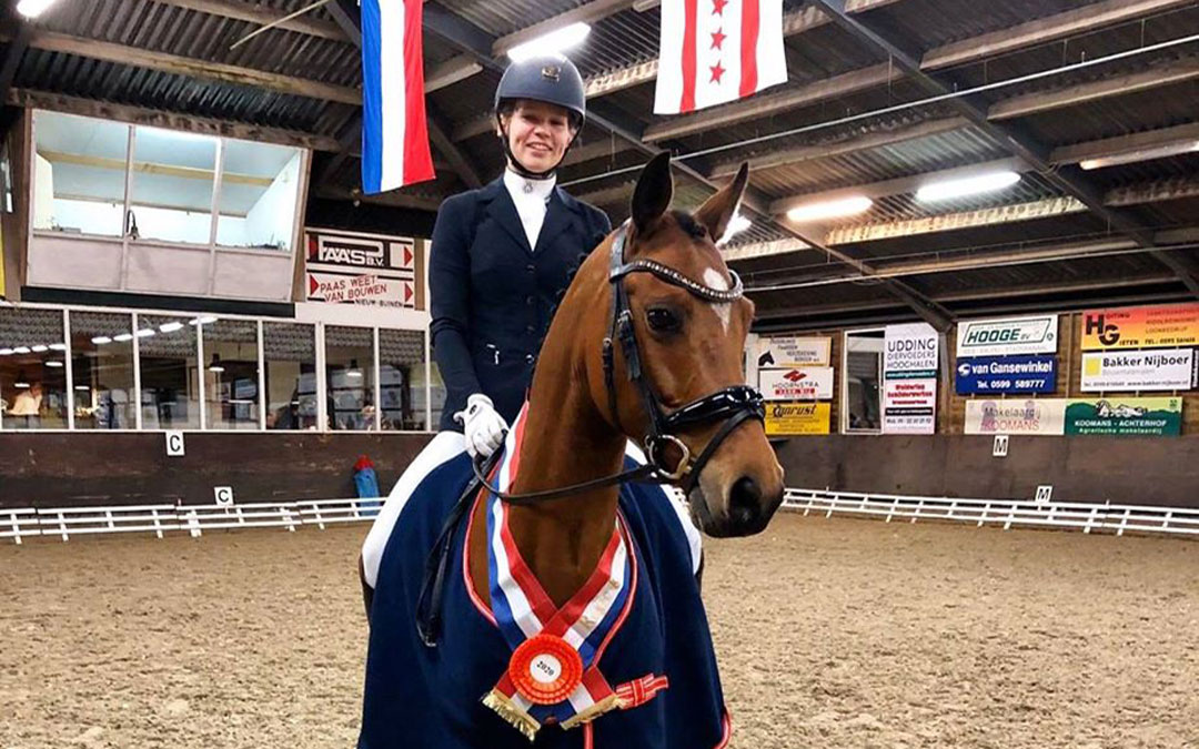 Ava Krause overtuigend Drents kampioen Z1 pony's