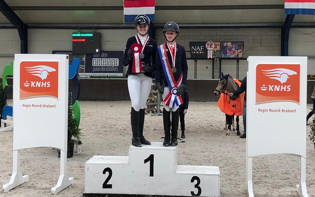 Stan van Gorkum Brabants kampioen C-M