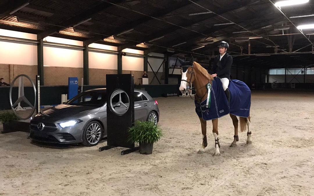 Dennis van den Brink wint Mercedes in Oosteind