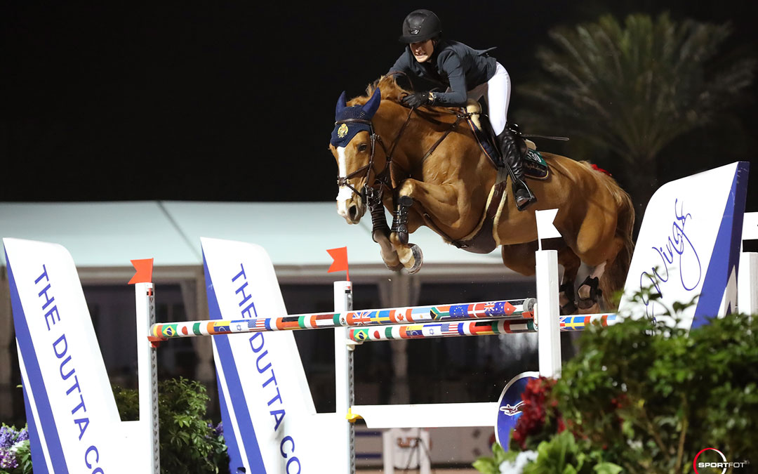 Jessica Springsteen wint 3*GP in Wellington