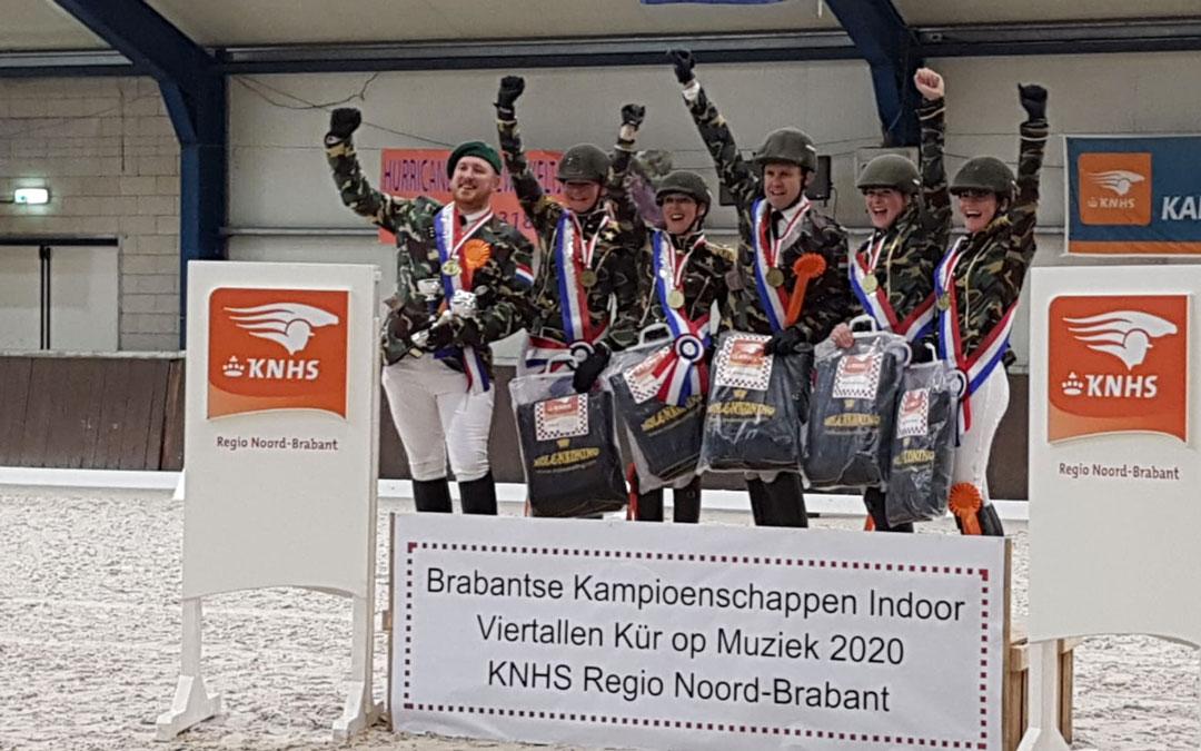 Udenhout en Kanonne winnaars bij viertallenwedstrijd