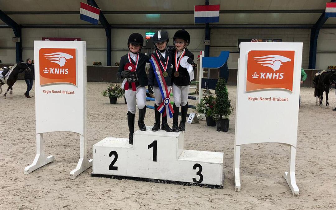 Brabants pony kampioenschap op niveau