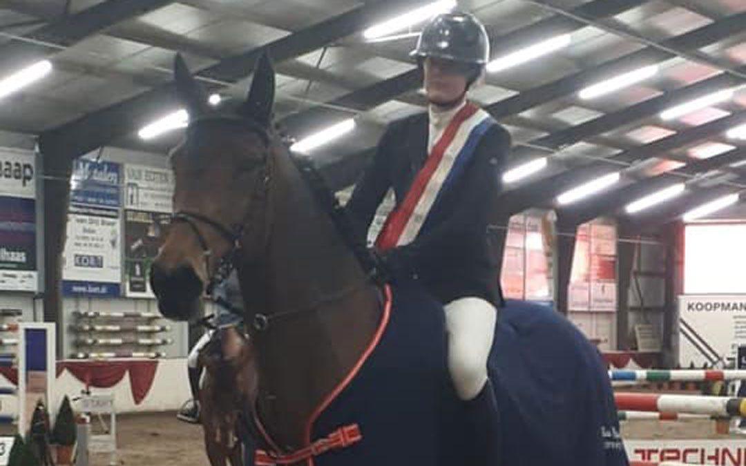 Renate Beuving en Weite Oldenziel kampioen in Drenthe